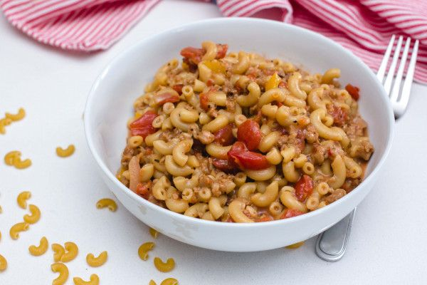 No Meat Macaroni Recipe Spaghetti Squash Recipes Food Recipes
