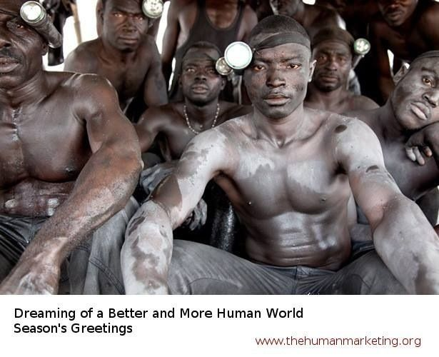 Season's Greetings - Dreaming of a better and more human world