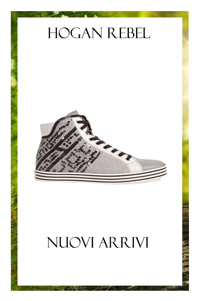 PER LEI: HOGAN REBEL - Sneaker in tessuto bianco http://www.mengotti-online.com/donna/hogan-rebel-sneaker-10332.html