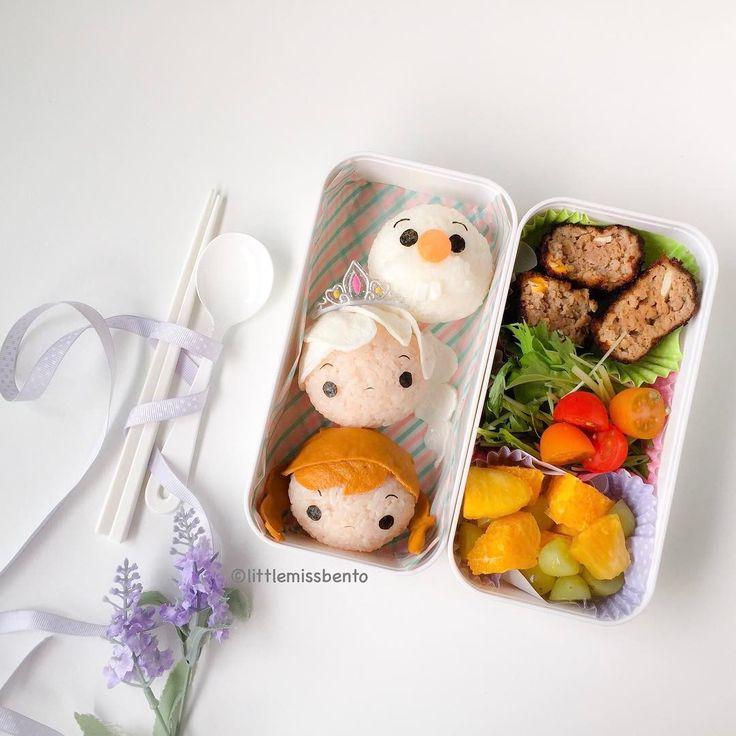 Disney bento post to start the weekend! Frozen Tsum Tsum ~~