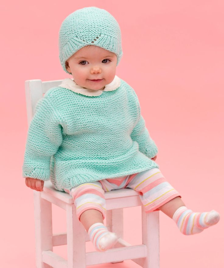 Knitted Baby Sweaters And Hats 23