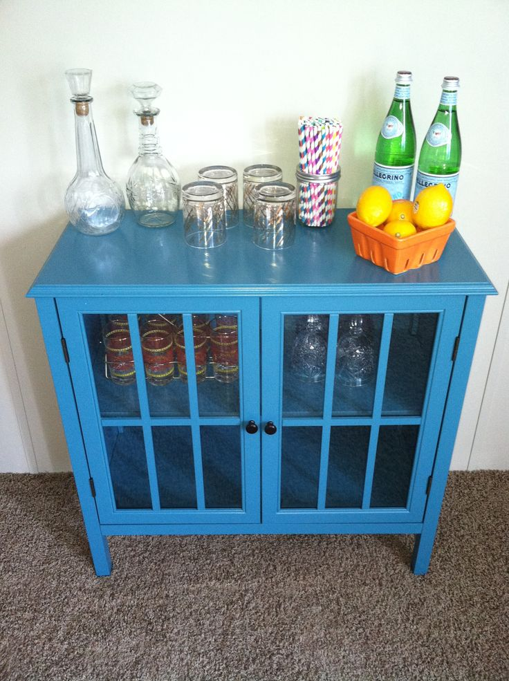 Love This Teal Cabinet From Target I M Using It To