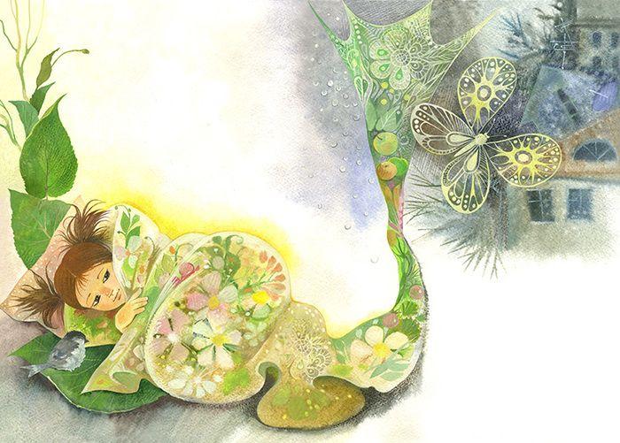 Просмотреть иллюстрацию Гусеничное настроение из сообщества русскоязычных художников автора Любовь Лазарева в стилях: Книжная графика, нарисованная техниками: Смешанная техника.