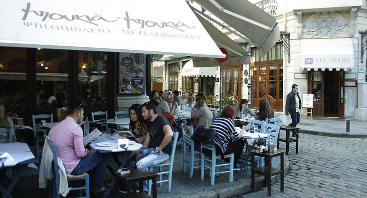 Ladadika: eten en drinken in Thessaloniki