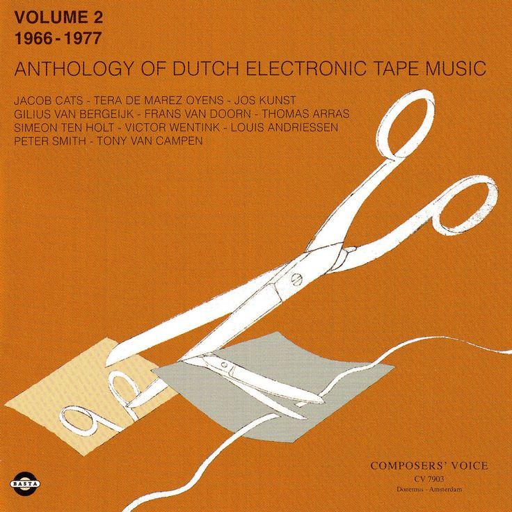 Basta 3091832   Anthology of Dutch Electronic Tape Music Volume 2 - 1966-1977
