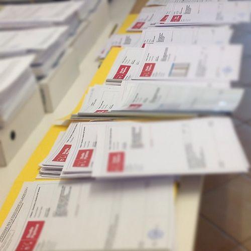 #Firme e #timbri sugli ultimi #lavori prima della #pausa #estiva - #Tavole #progetti  #Signatures and stamps on the latest #works before the #summer #break - #Project #panels