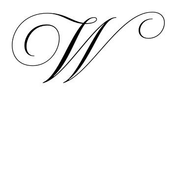 Latin capital letter w wedding pinterest scripts for Latin tattoo fonts