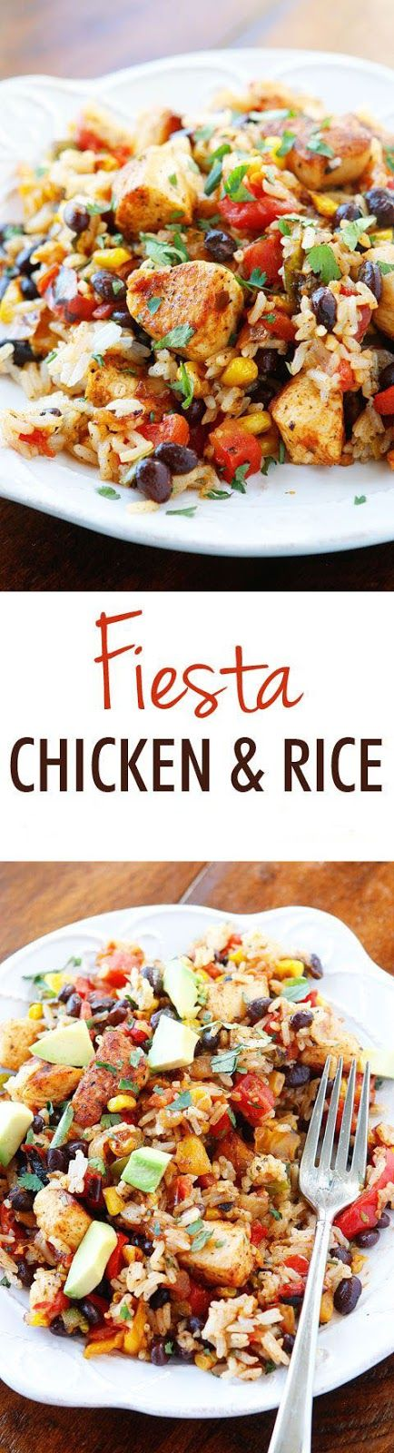 Southwestern Fiesta Chicken #recipes #chicken #food
