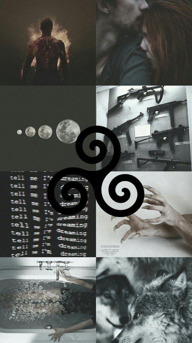 Fundo de tela estética de Teen Wolf – créditos: @xiockscreen no Twitter