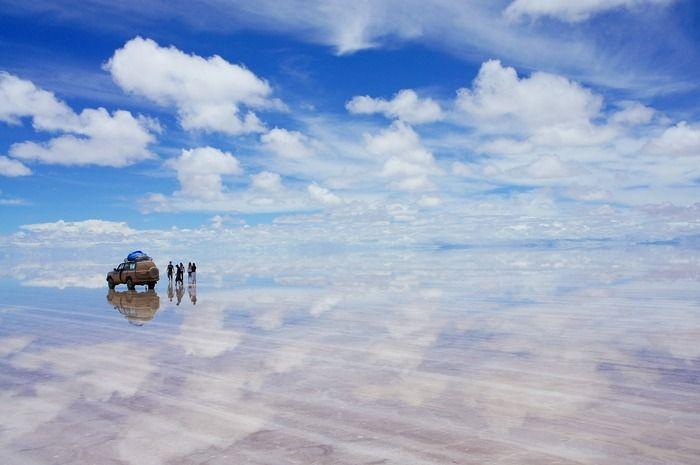 ユウニ塩湖