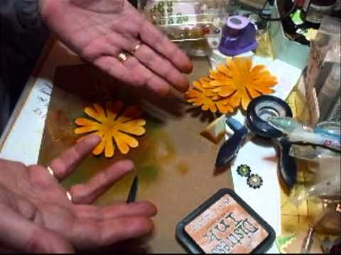 Fiona Jennings as jennings644 - How to make the Yellow Sunflower Tutorial - time 10:05; Mar 14, 2011