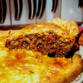 The Best Cheeseburger Pie | comfortable food