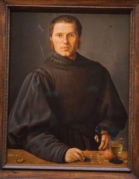 Portrait of an Arbitrator or Mathematician, Barthel Beham, 1529 Kunsthistorische…