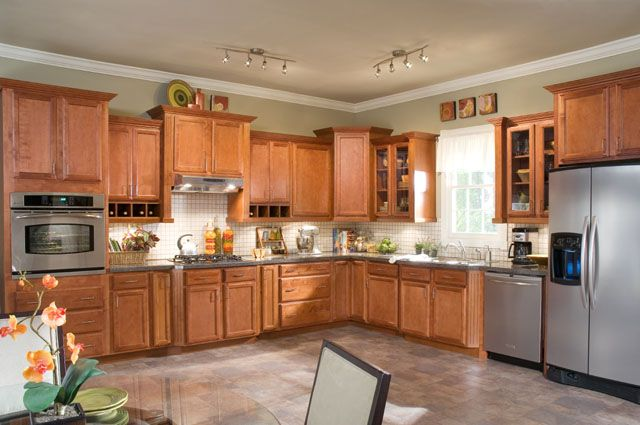 The cambridge collection is new to our attractive line of for Kitchen cabinet lines