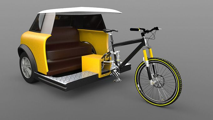 Bikes That Look Like Cars trams to look like cars