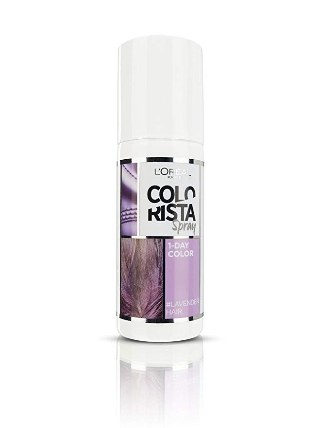 L Oreal Colorista Spray Pastel Blue Hair Colour Amazon Co Uk