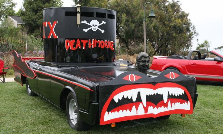 George Barris (auto customizer) george barris built cars Deathmobiles George Barris