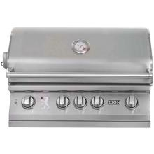 Lion 32 Inch Stainless Steel Built In Propane Gas Grill : BBQ Guys
