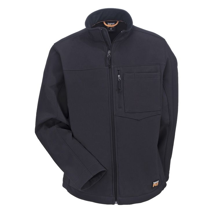 Timberland PRO Workwear: Power Zip Men's TB0A1HN6 015 Black Softshell Jacket