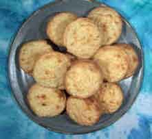 Hertzog Cookies, a favorite traditional South African coconut cookie