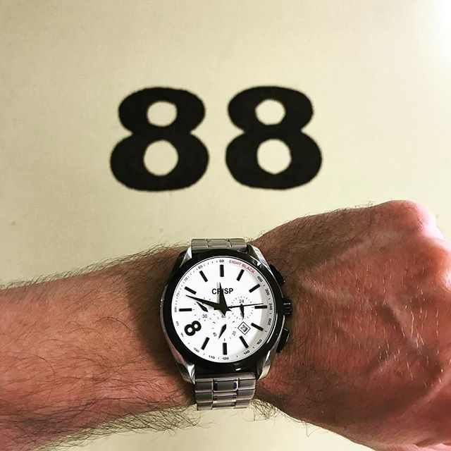 REPOST!!!  All the 8's. 🎱 #bosscrisp #quote #quotes #luxury #menstyle #selfie  #instagood  #melbourne #sydney #la #miami #nyc #newyork #timepiece #urban #gentleman #shop  #photooftheday #photography #swagger #cafe #tattoo #inked #coffee #supreme #hashtag #bosscrisp #chrono #chronograph #black #888  Photo Credit: Instagram ID @crispwatches