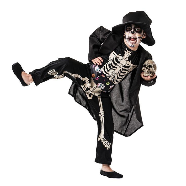 Disfraz de Esqueleto Día de los Muertos Infantil #tienda #disfraces #halloween #novedades