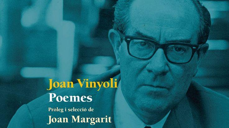"""L'antologia poètica de Joan Vinyoli que ha elaborat i prologat Joan Margarit pretén desvelar quin és el nucli dels millors poemes vinyolians i d'on ve l'excel·lència d'aquests poemes escampats per tota l'obra i que el converteixen en """"un dels poetes més grans en llengua catalana""""."""