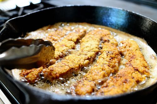 Steak fingers and gravy- by Ree Drummond / The Pioneer Woman, via Flickr