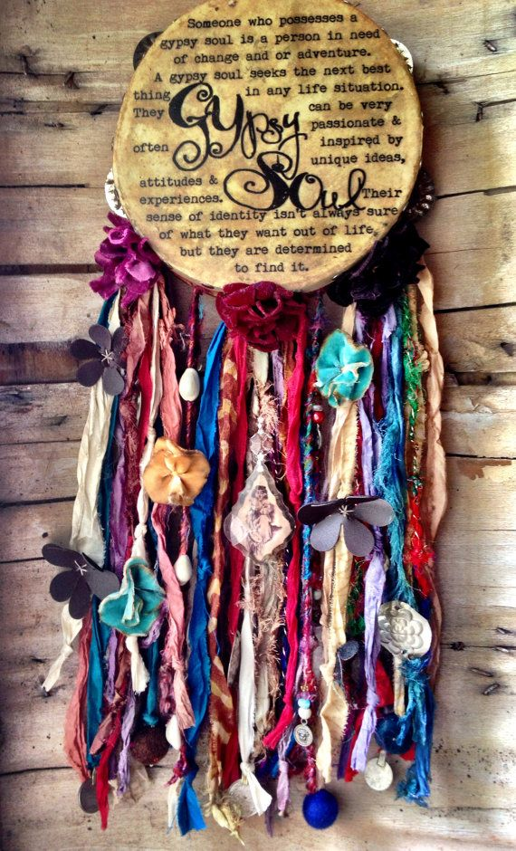 Gypsy Soul Tambourine, I seriously want this to hang in my living room