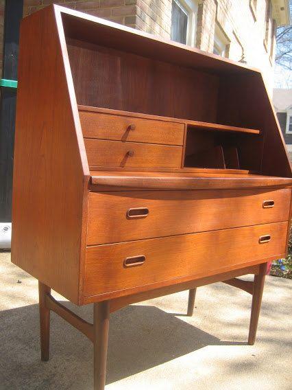 Danish Modern Bedroom Furniture: 17+ Best Images About Vintage Tables & Cabinets On