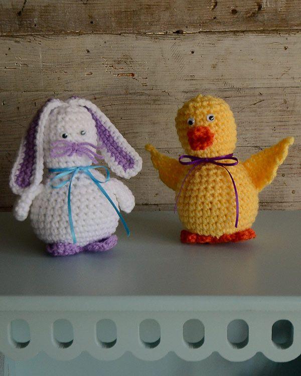 Darla Duck and Bernice Bunny Crochet Pattern