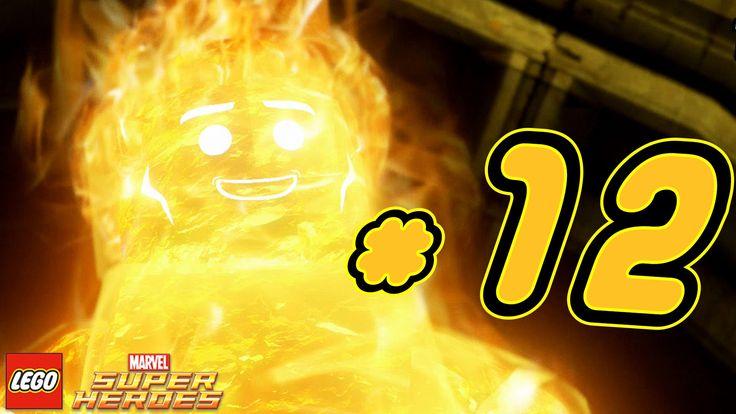 LEGO Marvel Super Heroes Gameplay ITA #12 - Torcia Umana - PS4