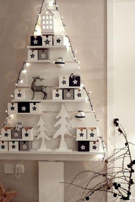 6 gyönyörű karácsonyfaötlet, amihez nem kell fenyő: se igazi, se mű | femina.hu