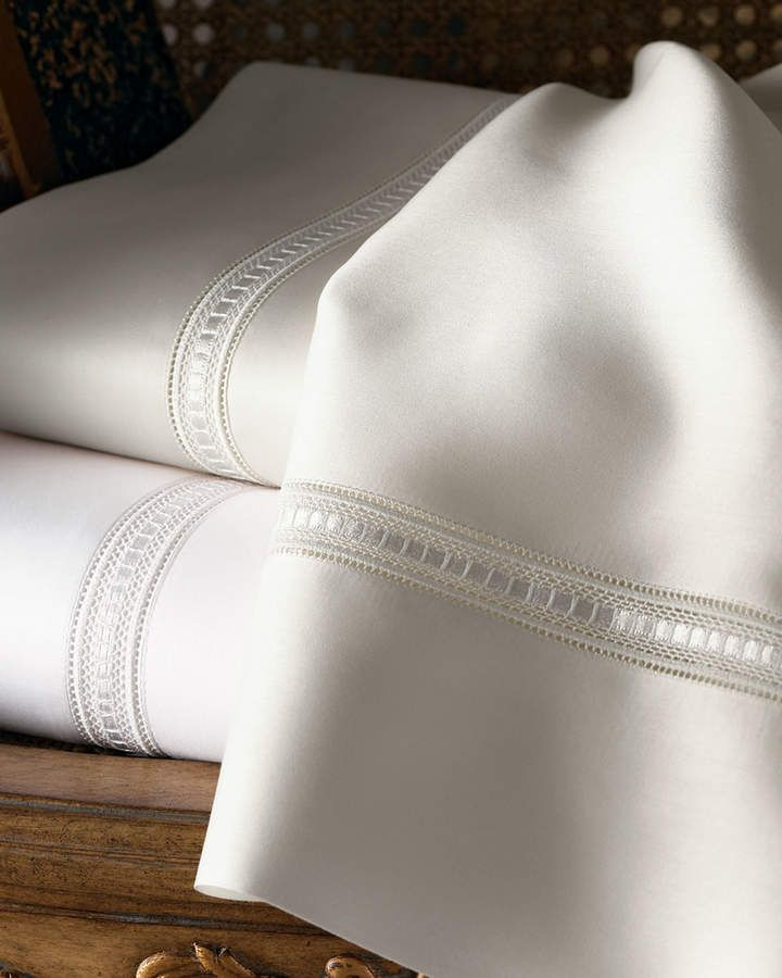 Sferra Two Standard 590 Thread Count Pillowcases
