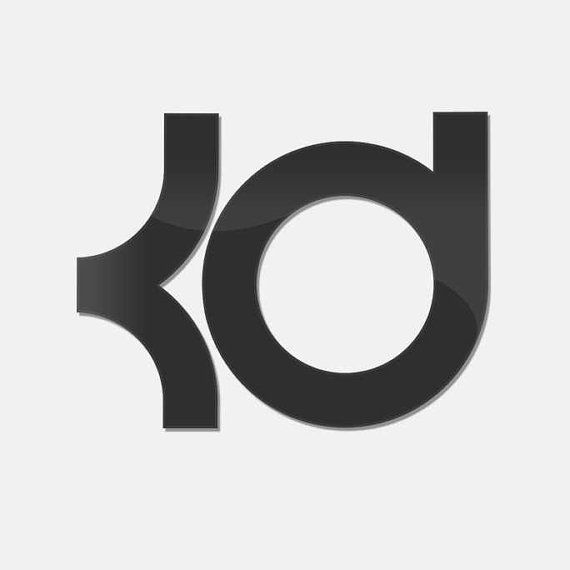 Kevin Durant Logo Sticker