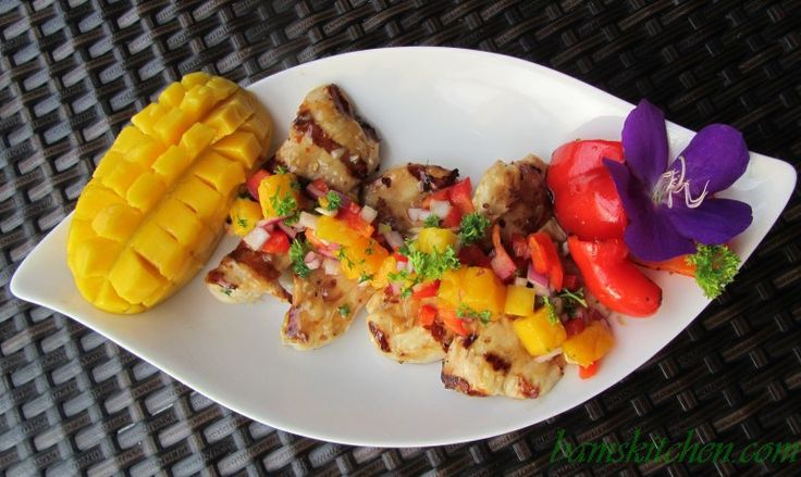 Tropical Spa Mango Chicken
