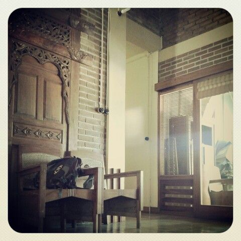 Vintage Javanese interior design