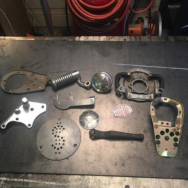 FOR SALE: Misc Harley Parts $15 each plus $5.09 shipping. DM or (928) 899-9780 #kickerparts #thechopmeet #chopperswapper #harleyparts #chopperparts #panhead #shovelehead #knucklehead #ironhead