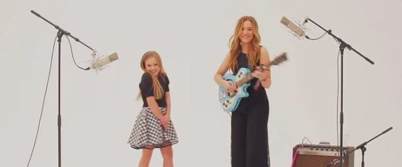 I ADORE these young  ladies!!  Lennon & Maisy Covered Charli XCX's 'Boom Clap,' And It's Totally Picture Perfect