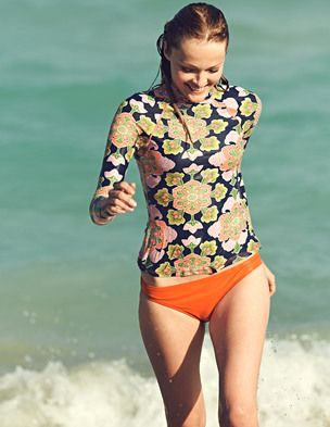 St Ives Rash Vest at Boden. I don't know if I need it, but it's damned cute!