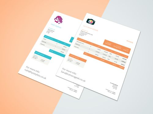 Albert | Invoice creator - 14 invoice designs - Free invoicing app for the iPhone. http://www.getalbert.com/free-invoice-templates