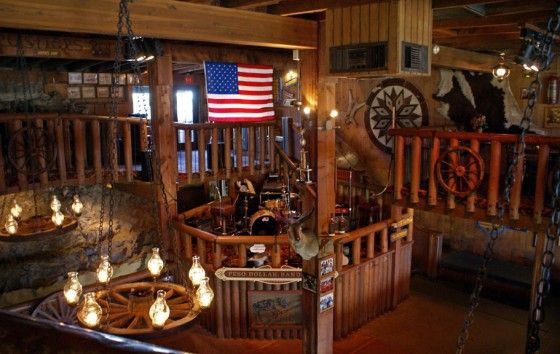 Rustler s rooste western themed restaurant phoenix