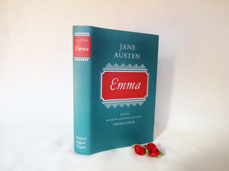 Emma by Jane Austen / 1971 1st Edition Oxford English Novels Series / In Excellent Condition / Scholar's Edition Edited by David Lodge by AllAboutAusten on Etsy