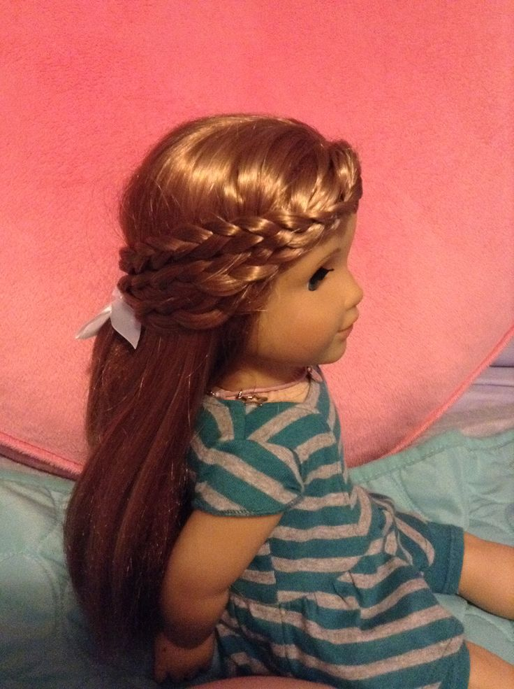 easy hairstyles for your american 72 best images about doll hair styling on doll