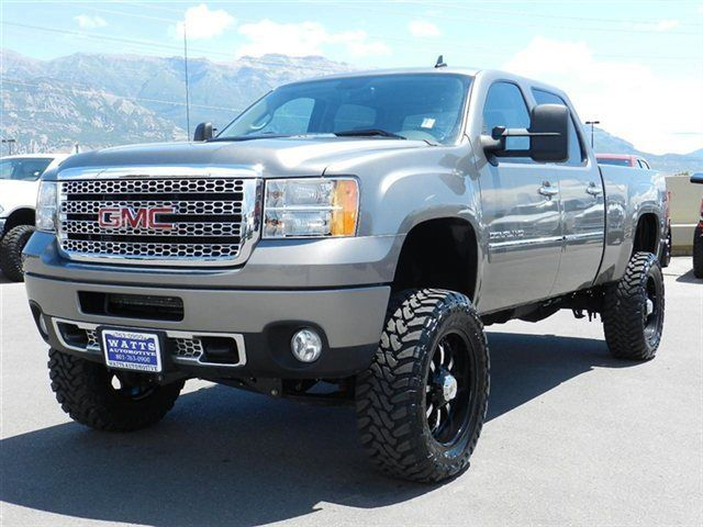Vehicle Photo: 2013 GMC Sierra 2500 Denali... PERFECT LIFT AND TIRE SIZE. . WANT THIS SO BAD ...