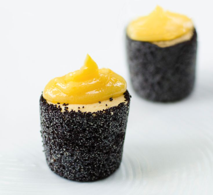 Lemon & Poppyseed Cheese Cakes Video