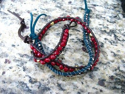 more wrapped braceletsBracelets Tutorials, Channing Luu, Wraps Bracelets, Crafts Today, Beads Bracelets, Copy Cats, Cat Crafts, Diy Bracelets, Leather Bracelets