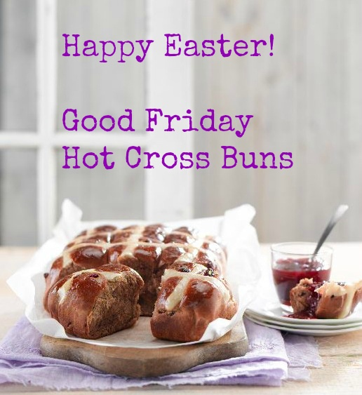 Julie Le Clerc: Hot Cross Buns for Easter Friday