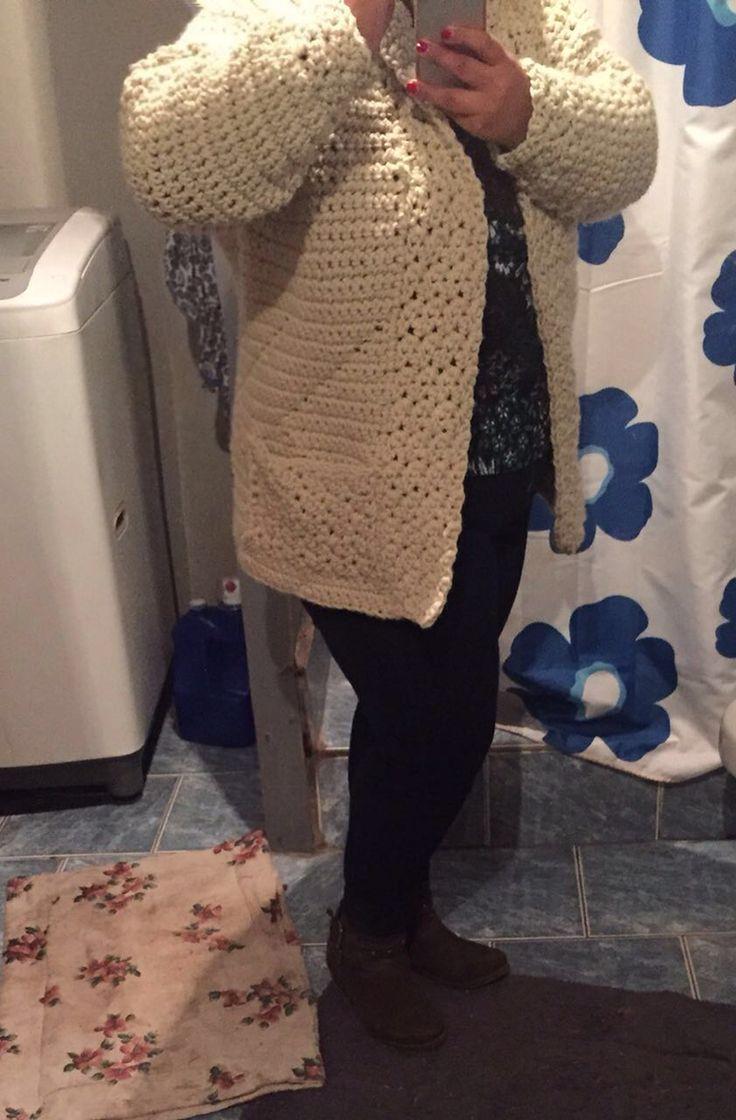 Chaleco, crochet