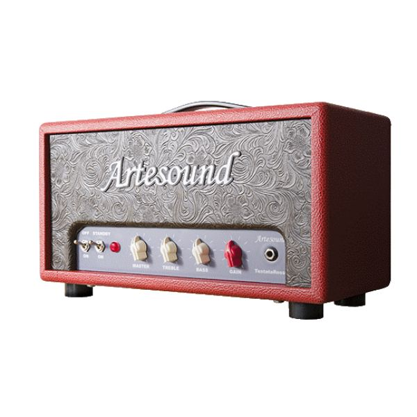Artesound TestataRossa 18W head, without doubt one of the absolute best and best sounding brittish style amps for the money. Handwired P2P,  wired on eyelet board.